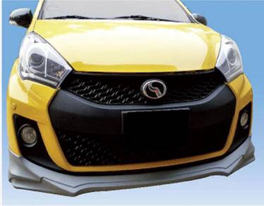 Perodua New Myvi SE 2015 Facelift Gear Up Bodykit
