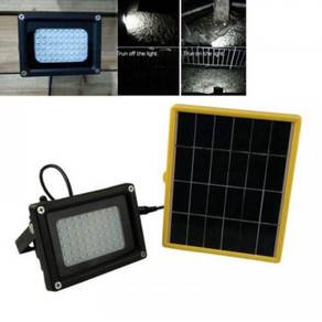 Solar Power 54LEDs Flood Light Auto Sensor Light