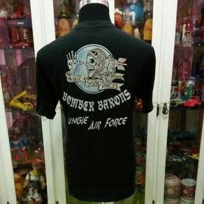 Buzz Rickson Bomber Barons Jungle Air Force T Shir