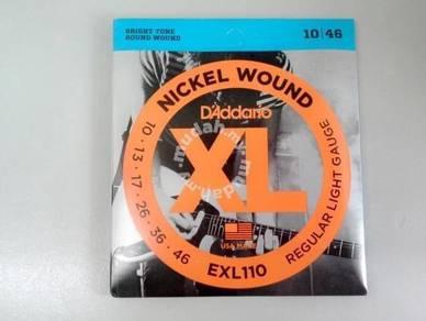 D'Addario EXL110 Electric Guitar String - 010-046