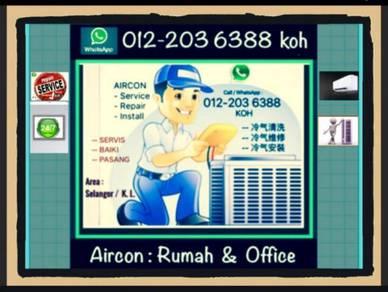 PRO AIRCON / SEL & KL AIRCOND - Kuchai Lama dll