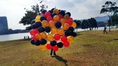 Balloon Helium 50pcs Self Pickup 00162