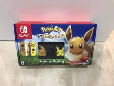 Nintendo Switch Lets Go Eevee