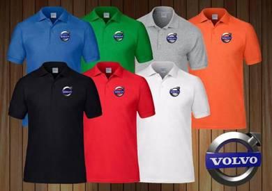 Tshirt Baju VOLVO COLLAR I TSV Siap poslaju