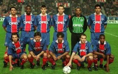 Rare vintage jersey PSG 1996-97 authentic genuine