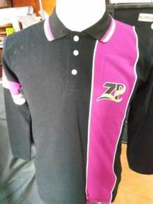 Print T Shirt Berkolar Perniagaan Putu Perak