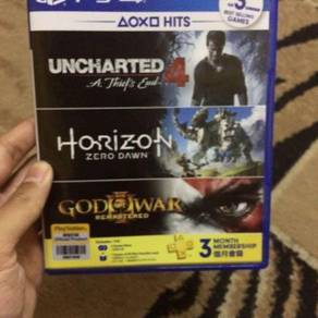 Uncharted 4 & Horizon Zero Dawn
