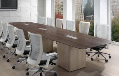 Meja Meeting 4800mm Panjang untuk 16 orang