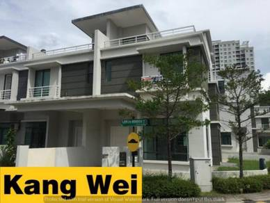 White Lily Terrace CORNER House_Gated & Guarded_Gelugor_Minden Heights