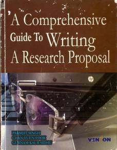 A comprehensive guide to writing a research propos