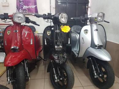 Scomadi 125 Scomadi tt125 New Model TERMURAH