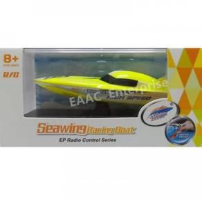 Create Toys Seawing Mini RC Boat 2.4Ghz (Yellow)