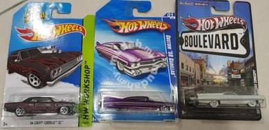 Hotwheels Lot of 3