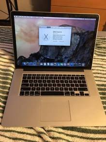 MacBook Pro Retina 15 - Mid 2015 Like New