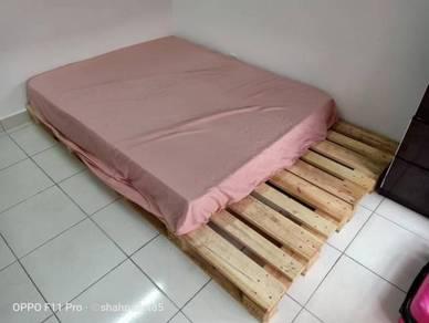 Pallet katil frame bed (24jam open)