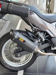 Ekzos Kawasaki Versys X 250 Exhaust Carbon SBK