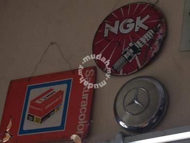 Antique Vintage Old Signboard Papan Iklan Lama 22