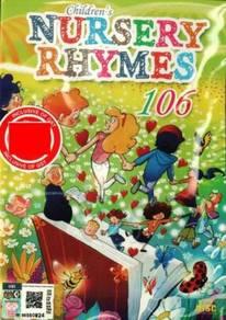 CD 106 English Children´s Nursery Rhymes (3CD)