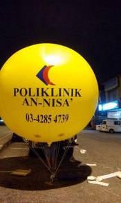 Sky advertising balloon - 00221