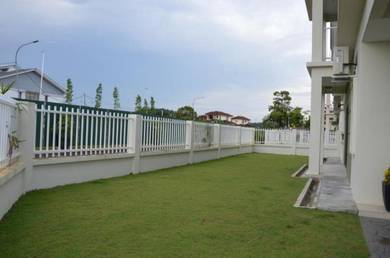 Corner 2 storey house sepang centre 23x65 FREEHOLD 0% downpayment