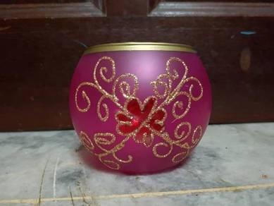 Deco pink bowl