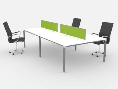 Cluster of 4 Pax Workstation Table (Open Concept)