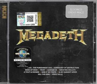 Megadeth Icon Greatest Hits CD