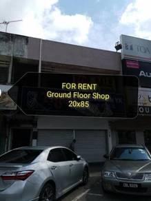 For Rent Ground Floor Shop (Kuantan)