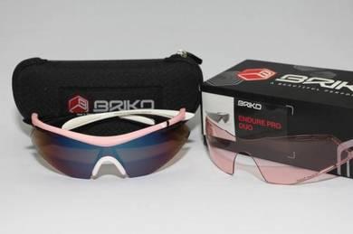 Briko Endure Pro Team sunglasses - 2 lenses