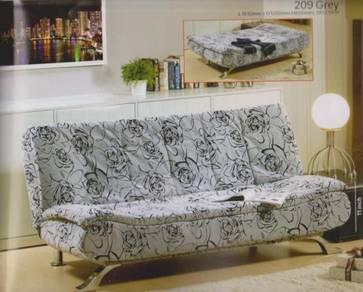 Sofa bed / katil sofa grey