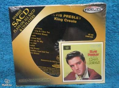 Elvis presley king creole #'d ltd ed sacd