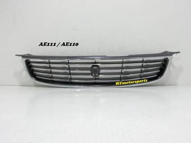 Toyota Corolla AE111 Front Grille Chrome 99_00 NEW