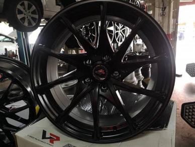 New rim 17 inch vrace camry civic volkwagen