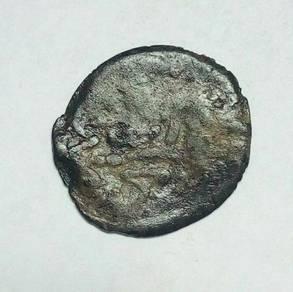 MaLACCA SULTAN MAHMUD SHAH TIN COIN 1456-1488-SMY9