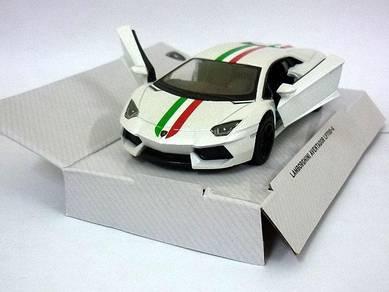 Diecast Lamborghini aventador LP700-4 (white)