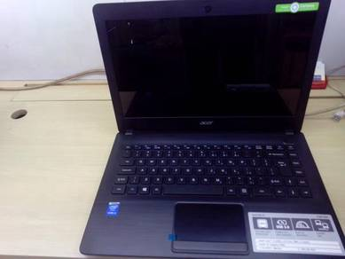 Laptop Acer Aspire ONE i3 14inch 4GB Ram Fullset