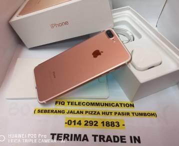 Iphone - 7-plus 128gb rosegold