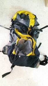 Deuter mountain backpack with raincover