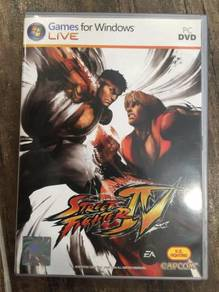 Street Fighter 4 EA IV CD game PC nVidia Capcom