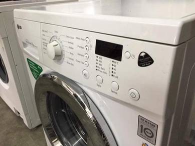 Mesin Inverter Front Load Washer LG 7kg Machine
