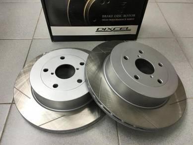 Dixcel SD Rear Disc Rotor Subaru GDA GDB GRB VAB