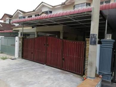 2 Storey Terrace , Taman Jentayu , Renovated