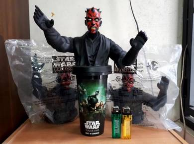 STAR WARS DARTH MAUL Taco Bell Kfc Pizza Hut 1999