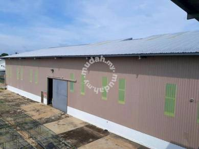 2.82-Acres Land With Factory up for Sale in Kunak, Sabah