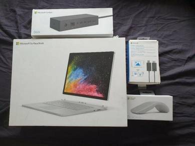 Fullset Surface Book 2 15 inch