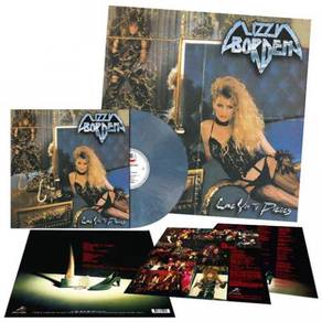 Lizzy Borden Love You To Pieces LP (Opaque Slate