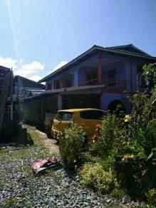 Rumah kampung 2 tingkat untuk d jual