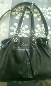 Handbag Coach Leather