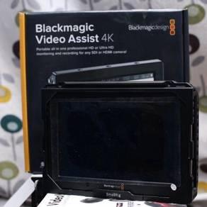 Blackmagic Video Assist 4k (under warranty)