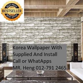 Beautiful In Wall paper with Installation gy4